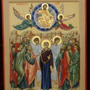 Икона к празднику Вознесения Господня